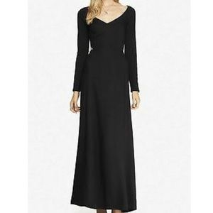 Express Black Cut-out Maxi Dress